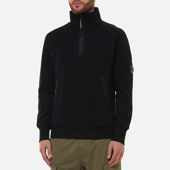 Мужская толстовка C.P. Company Diagonal Raised Fleece Utility Black