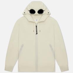 Мужская толстовка C.P. Company Diagonal Raised Fleece Goggle Hoodie Sandshell