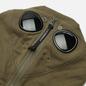 Мужская толстовка C.P. Company Diagonal Raised Fleece Explorer Goggle Hoodie Stone Grey фото - 1