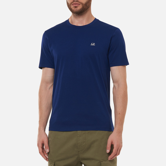 Мужская футболка C.P. Company Jersey Goggle Print Blueprint