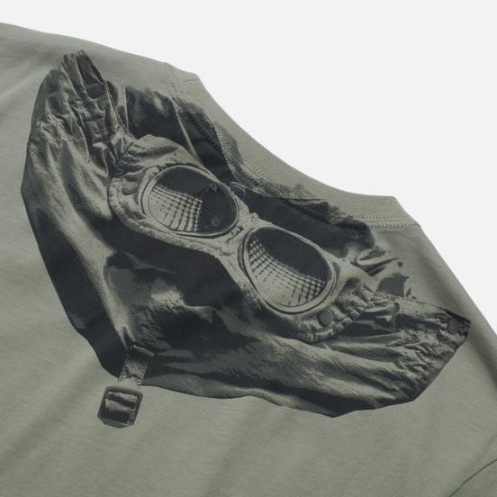 Мужская футболка C.P. Company Jersey Goggle Print Moon Mist
