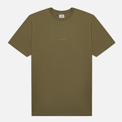 Мужская футболка C.P. Company Jersey Compact Print Stone Grey