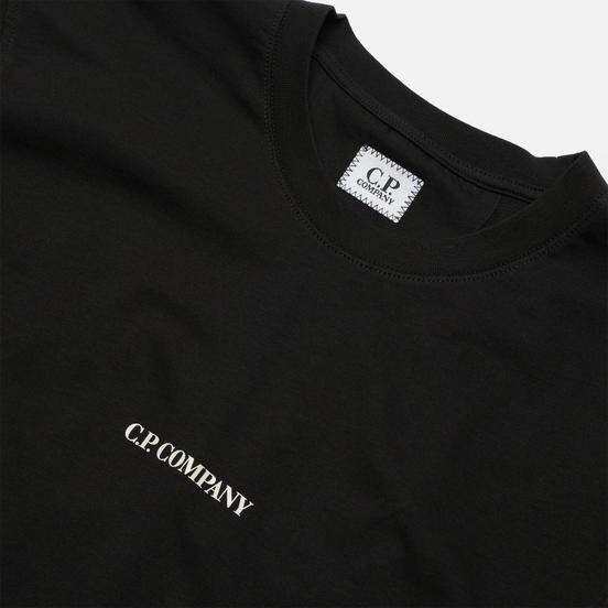 Мужская футболка C.P. Company Jersey Compact Print Black