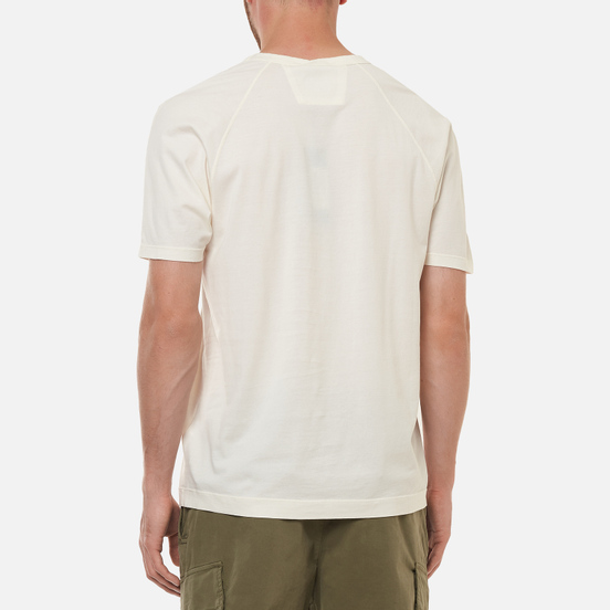 Мужская футболка C.P. Company Mercerized Jersey Gauze White