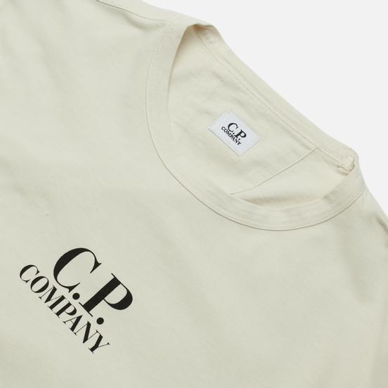 Мужской лонгслив C.P. Company Brushed Jersey Sandshell