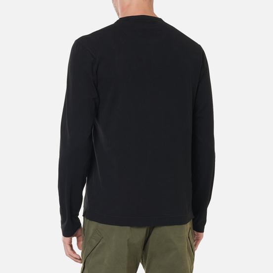Мужской лонгслив C.P. Company Brushed Jersey Black