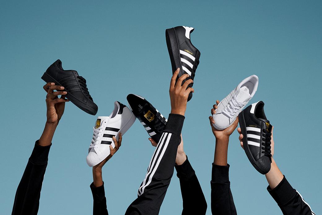 adidas Superstar: 50 лет движения вперёд