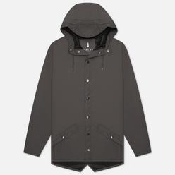 Мужская куртка дождевик Rains Jacket Charcoal