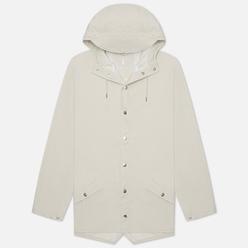 Мужская куртка дождевик Rains Jacket Off White