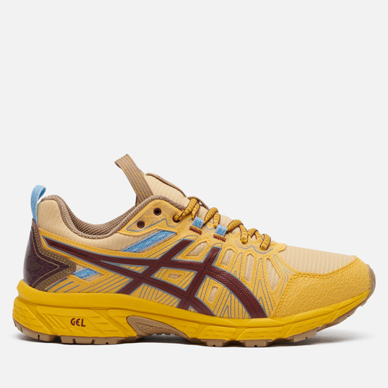 Кроссовки ASICS HN1-S Gel-Venture 7 Yellow/Brown