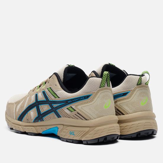 Мужские кроссовки ASICS Gel-Venture 7 Wood Crepe/ Digital Aqua