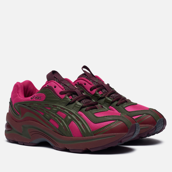 Женские кроссовки ASICS FB1-S Gel-Preleus Pink Rave/Olive Canvas