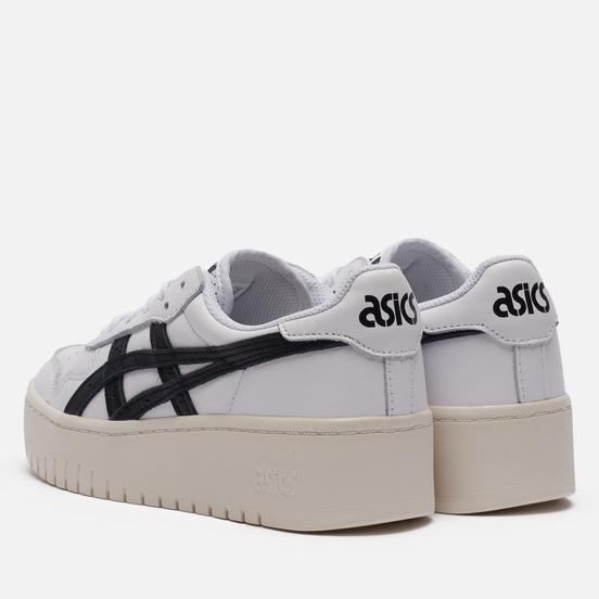 Женские кроссовки ASICS Japan S Platform White/Black