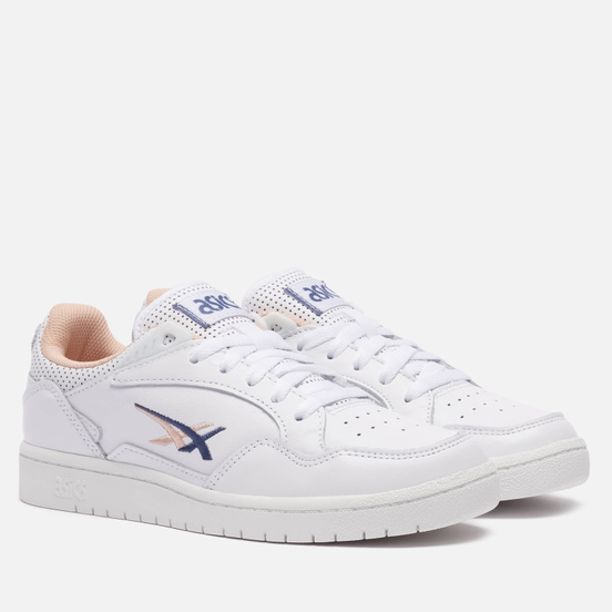 Женские кроссовки ASICS Skycourt White/Thunder Blue