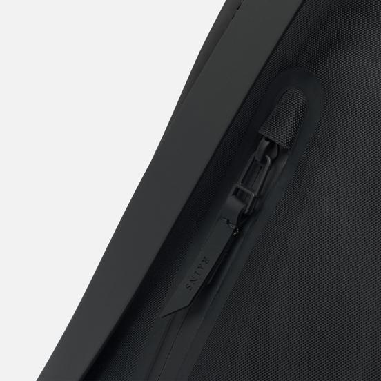 Рюкзак Rains Waterproof Coil Zipper Black