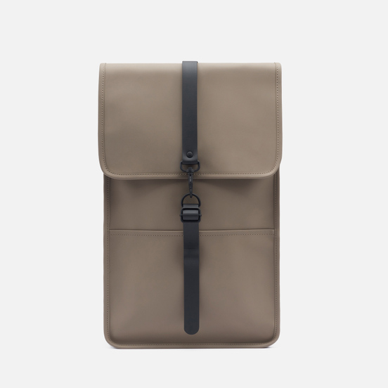 Рюкзак Rains Waterproof Coil Zipper Taupe