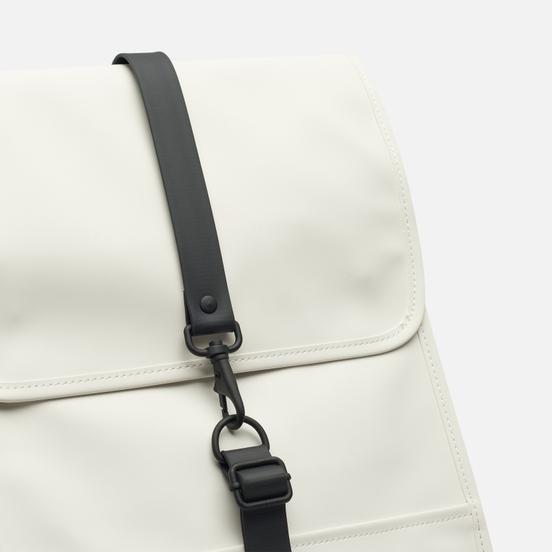 Рюкзак Rains Waterproof Coil Zipper Off White