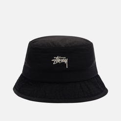 Панама Stussy Metallic Nylon Bungee Black