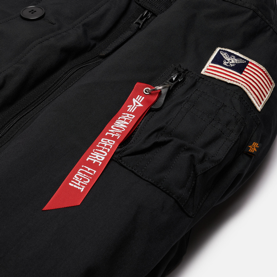 Мужская куртка Alpha Industries Polar SV Black