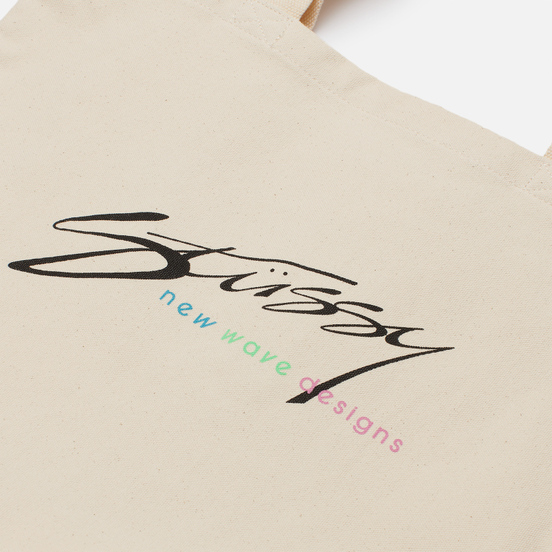 Сумка Stussy New Wave Designs Natural