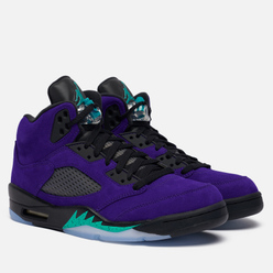 Мужские кроссовки Jordan Air Jordan 5 Retro Alternate Grape Grape Ice/New Emerald/Black/Clear