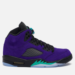Мужские кроссовки Jordan Air Jordan 5 Retro Alternate Grape Grape Ice/New Emerald/Black/Clear