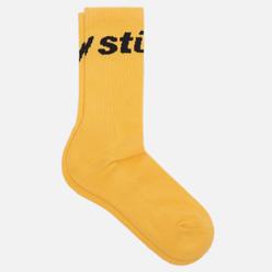 Носки Stussy Jacquard Logo Gold