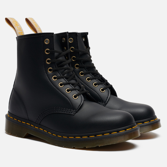 Ботинки Dr. Martens 1460 Vegan Felix Rub-Off Black