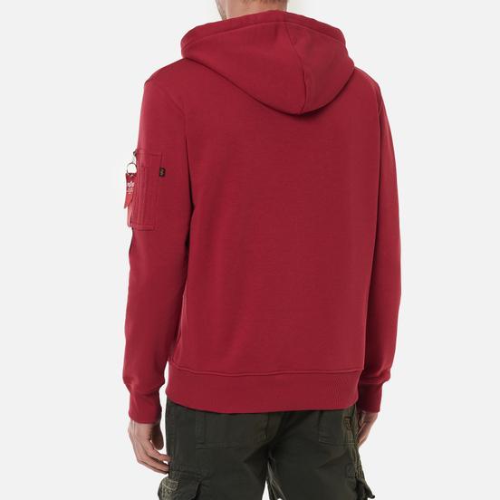 Мужская толстовка Alpha Industries X-Fit Hoody RBF Red