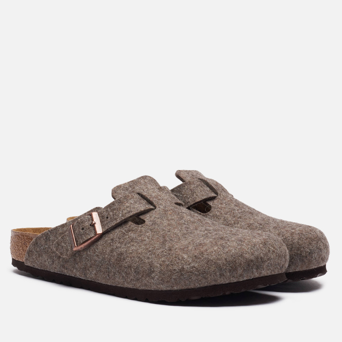 Мужские сандалии Birkenstock Boston Wool