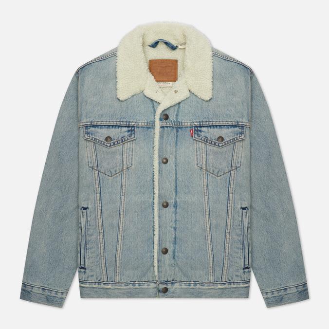 Мужская джинсовая куртка Levi's Type III Sherpa Trucker