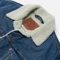 Мужская джинсовая куртка Levi's The Sherpa Trucker Fable/Medium Wash фото - 1