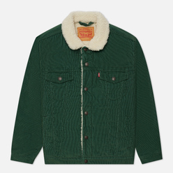 Мужская куртка Levi's Type III Sherpa Trucker Pine Needle