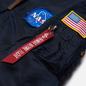Мужская куртка бомбер Alpha Industries Nasa MA-1 VF Replica Blue фото - 2