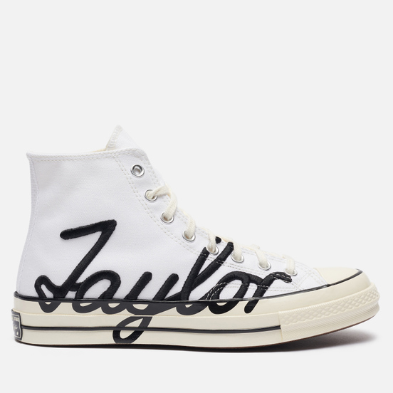 Кеды Converse Chuck Taylor 70 High Signature White/Egret/Black