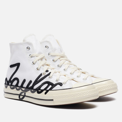 Кеды Converse Chuck Taylor 70 High Signature White/Egret/Black