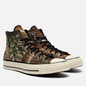 Мужские кеды Converse x Realtree EDGE Chuck 70 High Black/Saffron Yellow/White фото - 0