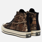 Мужские кеды Converse x Realtree EDGE Chuck 70 High Black/Saffron Yellow/White фото - 2