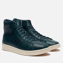 Мужские кеды Converse x Horween Pro Leather Hi Dark Blue