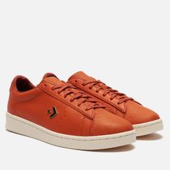 Мужские кеды Converse x Horween Pro Leather Low Burnt Orange Virginia