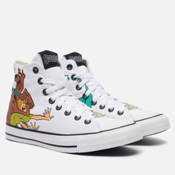 Кеды Converse x Scooby-Doo Chuck Taylor High White/Multi/Black