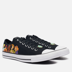 Мужские кеды Converse x Scooby-Doo Chuck Taylor Low Black/Multi/White