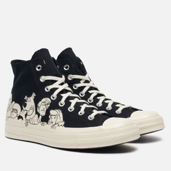 Мужские кеды Converse x Scooby-Doo Chuck Taylor 70 High Black/Egret/Black