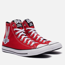 Кеды Converse x Bugs Bunny Chuck Taylor All Star Hi Red/White/Black