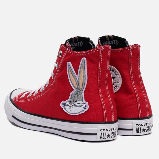 Кеды Converse x Bugs Bunny Chuck Taylor All Star Hi Red/White/Black