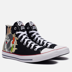 Кеды Converse x Bugs Bunny Chuck Taylor All Star Hi Black/Multi/White