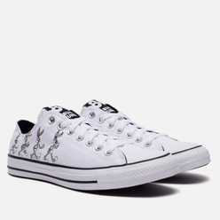 Кеды Converse x Bugs Bunny Chuck Taylor All Star OX Grey/White/Black