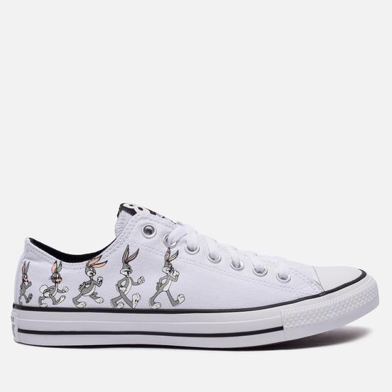 Кеды Converse x Bugs Bunny Chuck Taylor All Star OX Grey/White/Black