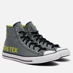 Мужские кеды Converse Chuck Taylor All Star High Gore-Tex Fuji Construction Limestone Grey/Lemon Venom