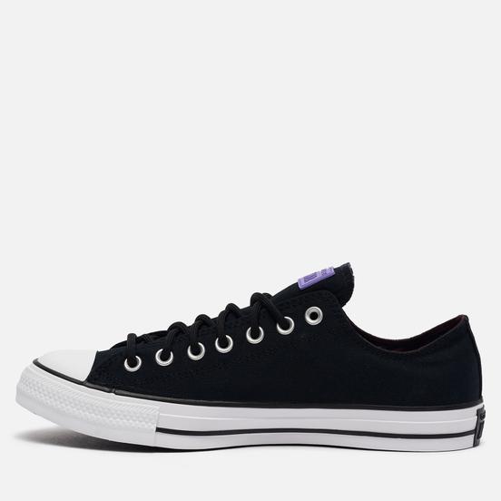 Мужские кеды Converse Chuck Taylor All Star Low Gore-Tex Fuji Construction Black/Bright Lilac/White
